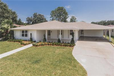 Metairie Single Family Home For Sale: 4601 James Drive