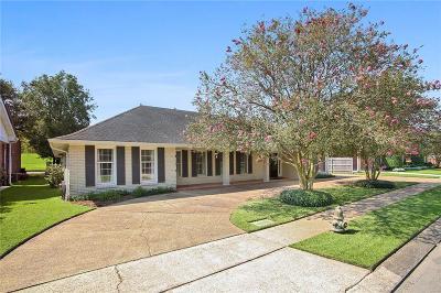 River Ridge, Harahan Single Family Home For Sale: 7312 Stoneleigh Drive