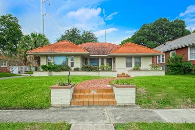 Single Family Home For Sale: 4600 Spain Street