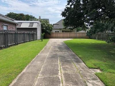 Metairie Residential Lots & Land For Sale: Labarre Drive