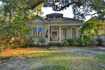 Single Family Home For Sale: 850 N Carrollton Avenue
