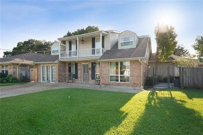 Metairie Single Family Home For Sale: 4720 Lake Como Avenue