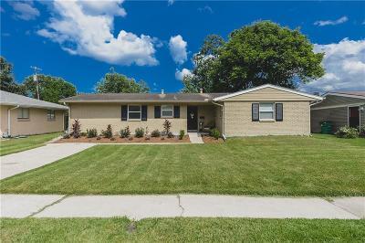 Metairie Single Family Home For Sale: 3617 Tartan Drive