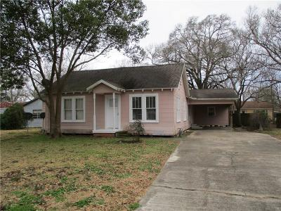 Welsh LA Single Family Home For Sale: $125,000