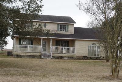 Jennings Single Family Home For Sale: 3369 F.e. Landry Road