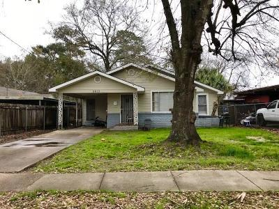 Lake Charles Single Family Home For Sale: 2613 Dietz Street