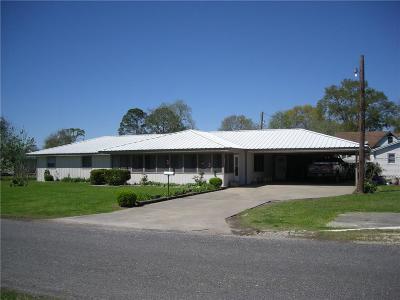 Lake Arthur LA Single Family Home For Sale: $129,900