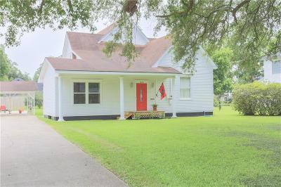 Jennings LA Single Family Home For Sale: $218,500