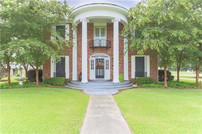 Jennings LA Single Family Home For Sale: $329,000