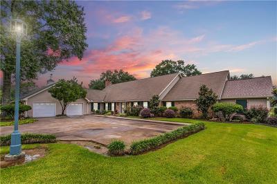 Sulphur Single Family Home For Sale: 486 Bayou Sunset Lane