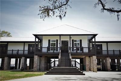 Sulphur Single Family Home For Sale: 7111 Port Road