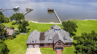 Sulphur Single Family Home For Sale: 7090 Moss Lake Lane