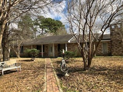 Sulphur Single Family Home For Sale: 3468 Anthony Ferry Road