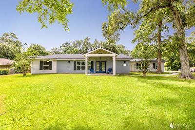Lake Charles Single Family Home For Sale: 2829 W Prien Lake Road