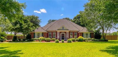 Lake Charles Single Family Home For Sale: 3655 Paul White Road