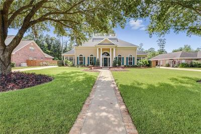 Lake Charles Single Family Home For Sale: 4012 Barbe Woods Drive