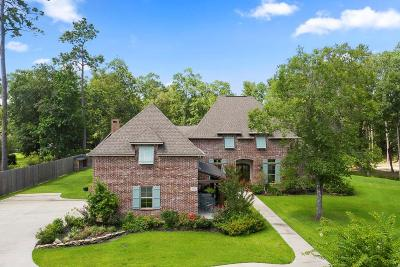 Lake Charles Single Family Home For Sale: 1284 Rock Creek Drive