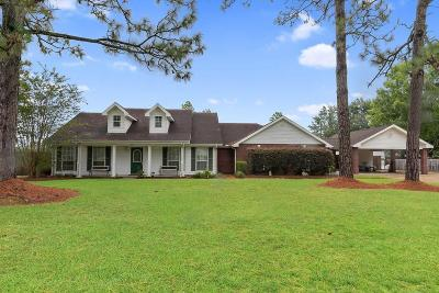 Lake Charles Single Family Home For Sale: 1590 S Morning Drive