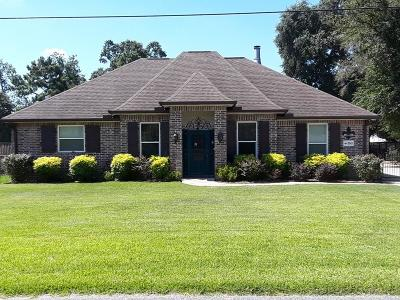 Lake Charles Single Family Home For Sale: 3543 Necess Road