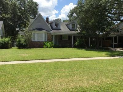 Lake Charles Single Family Home For Sale: 1218 9th Street
