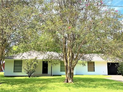 Sulphur Single Family Home For Sale: 1327 W Kent Drive