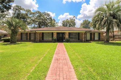 Lake Charles Single Family Home For Sale: 301 Orchard Drive
