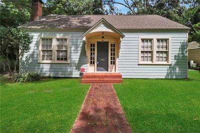 Lake Charles Single Family Home For Sale: 1221 Bank Street