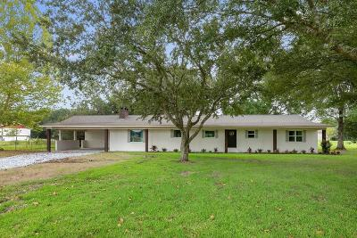Lake Charles Single Family Home For Sale: 6899 Hwy 3256 Highway