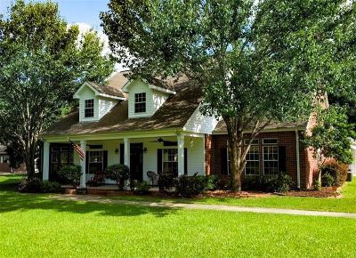 Lake Charles Single Family Home For Sale: 1624 Tan Tara Circle