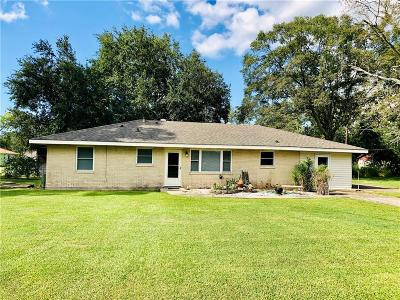Sulphur Single Family Home For Sale: 511 McNair Road