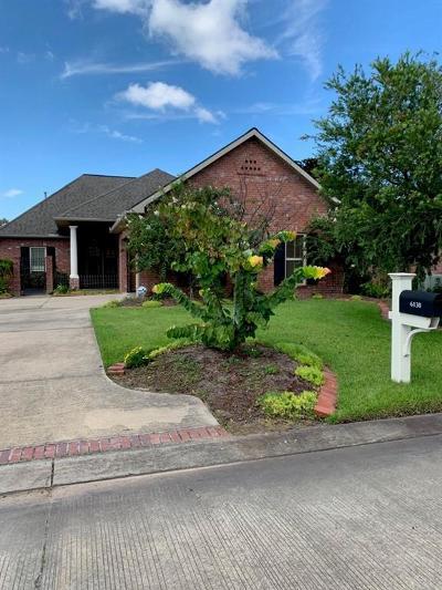 Lake Charles Single Family Home For Sale: 6130 E Azalea Drive