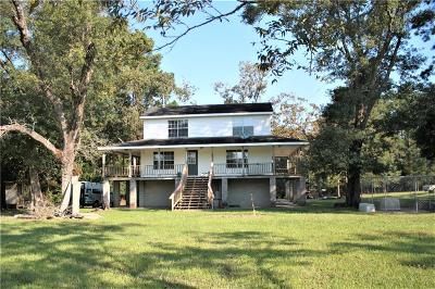 Lake Charles Single Family Home For Sale: 5890 River Road