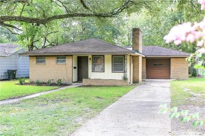 Lake Charles Single Family Home For Sale: 1814 Orchid Street