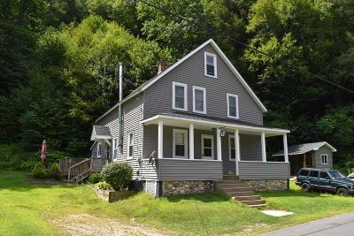 Adams, Clarksburg, Florida, New Ashford, North Adams, Savoy, Williamstown Single Family Home For Sale: 249 River Rd
