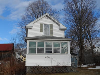Single Family Home For Sale: 42 1/2 Spring St
