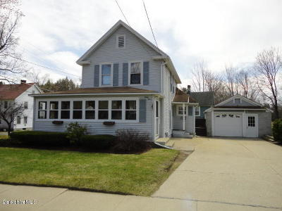 Dalton Single Family Home For Sale: 64 Ashuelot St