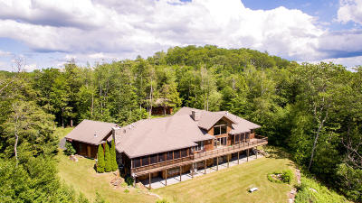 Berkshire County Single Family Home For Sale: 50 Mount Hunger Estates --