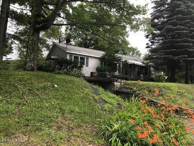 Lanesboro Single Family Home For Sale: 642 Cheshire Rd