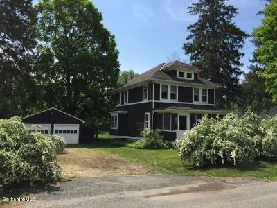 Berkshire County Single Family Home For Sale: 1 Goodrich St