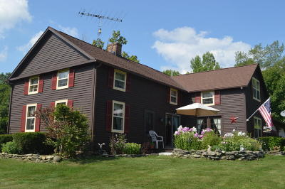 Berkshire County Single Family Home For Sale: 103 Goose Pond Rd