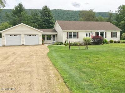 Berkshire County Single Family Home For Sale: 802 River Rd