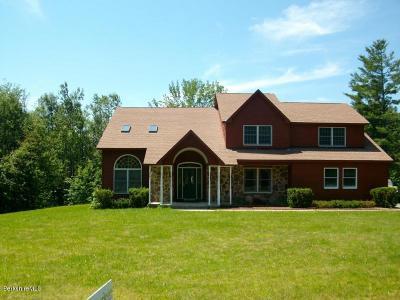 Adams, Clarksburg, Florida, New Ashford, North Adams, Savoy, Williamstown Single Family Home For Sale: 560 Loop Road Rd