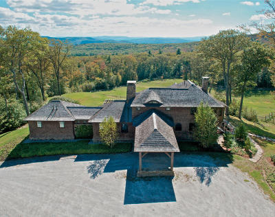 Berkshire County Single Family Home For Sale: 185 Beartown Mountain Rd