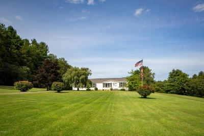 Pittsfield Single Family Home For Sale: 488 Hancock Rd