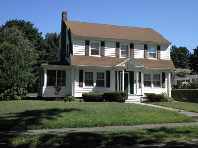 Pittsfield Single Family Home For Sale: 21 Wellesley St