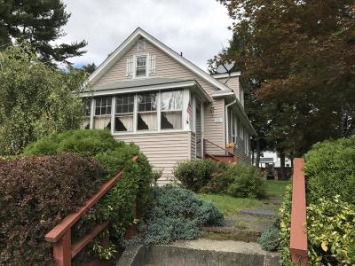 Pittsfield MA Single Family Home For Sale: $114,900