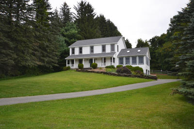 Pittsfield Single Family Home For Sale: 500 Pecks Rd