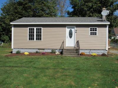 Lanesboro MA Single Family Home For Sale: $134,900