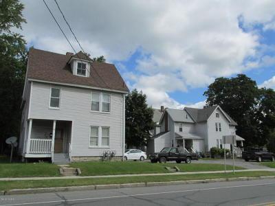 Pittsfield Multi Family Home For Sale: 3 Pleasure Ave