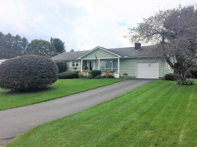 Pittsfield Single Family Home For Sale: 35 Oak Hill Rd